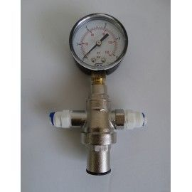Reductor de presión metálico 1/4¨