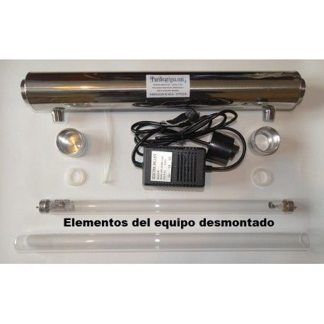 Esterilizador ultravioleta 25 W 6 GPM