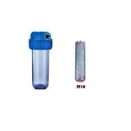 Porta filtros 10´´con cartucho polifosfatos
