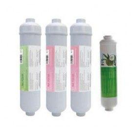 """Kit filtros en línea 12"""" para ósmosis compactas"""