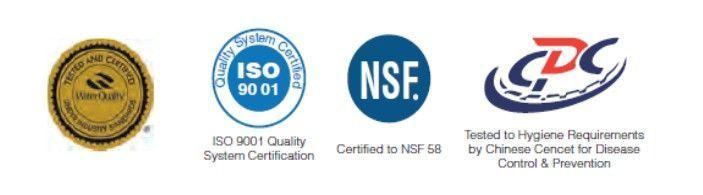 certificados de calidad membranas Vontron