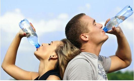 Agua pura mayor bienestar